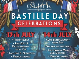 Bastille Day 2015 at The Church
