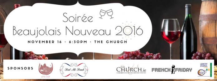 free beaujolais nouveau party saucisson music
