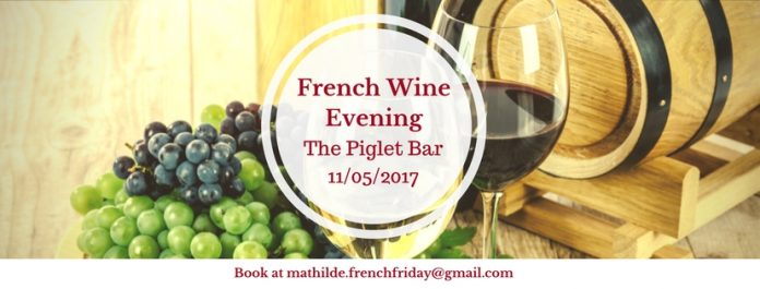 French Wine Evening Piglet French Friday Dublin